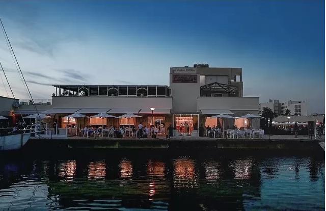 Lux Restaurant Lounge al porto turistico di Ostia